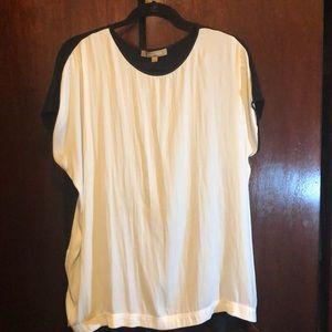 Ellen Tracy silky blouse